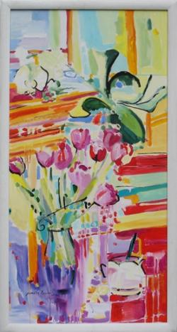 Tulipany i storczyki